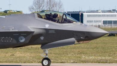 Photo of Luchtmacht ontvangt haar dertiende F-35 | Video