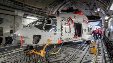 Photo of Vervangende NH90-helikopter richting het Caribisch gebied
